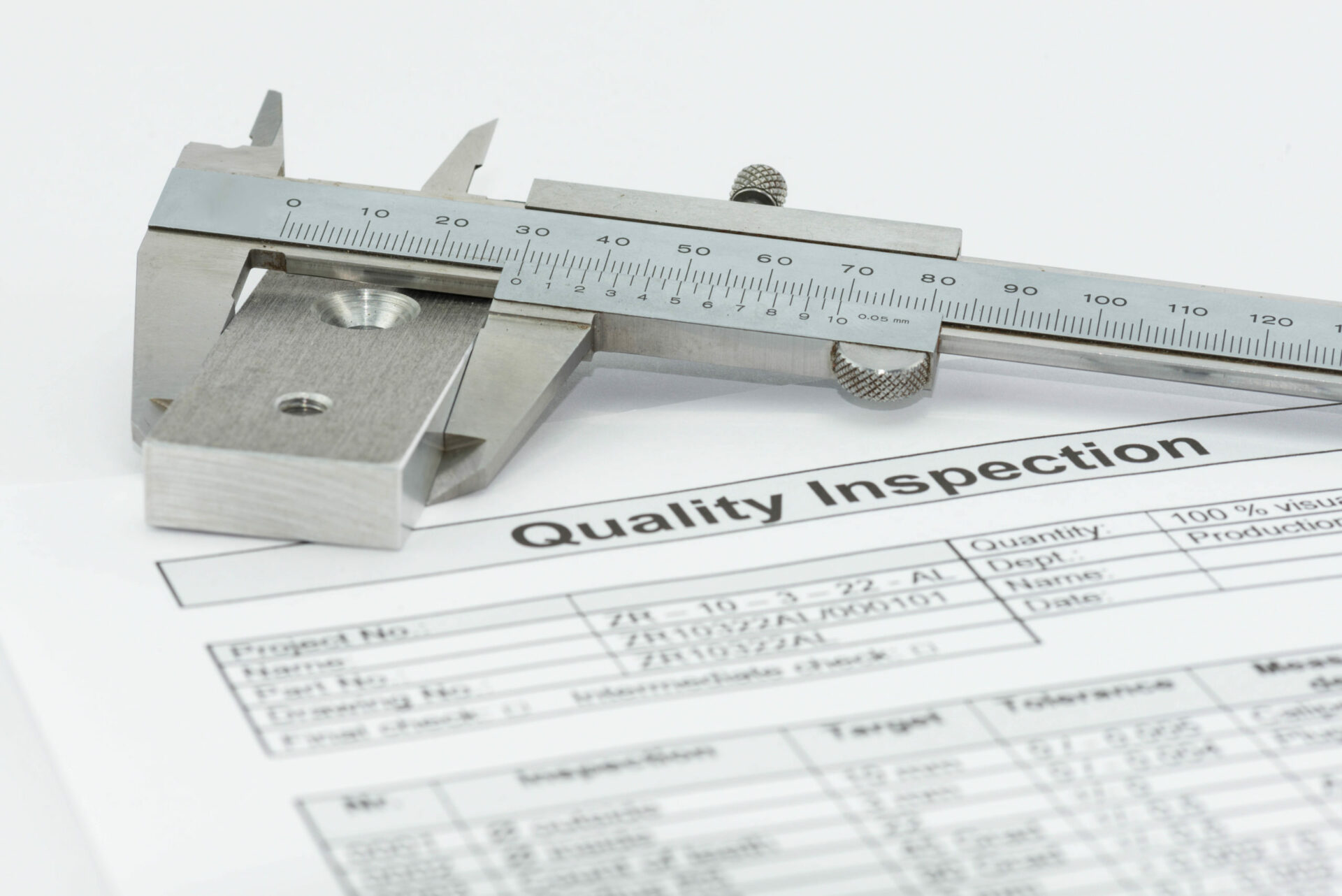 Quality,Management,With,Measuring,Equipment,And,Measurement,Report