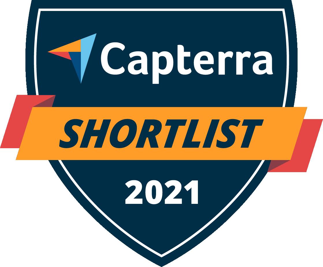 Badges Capterra Shortlist