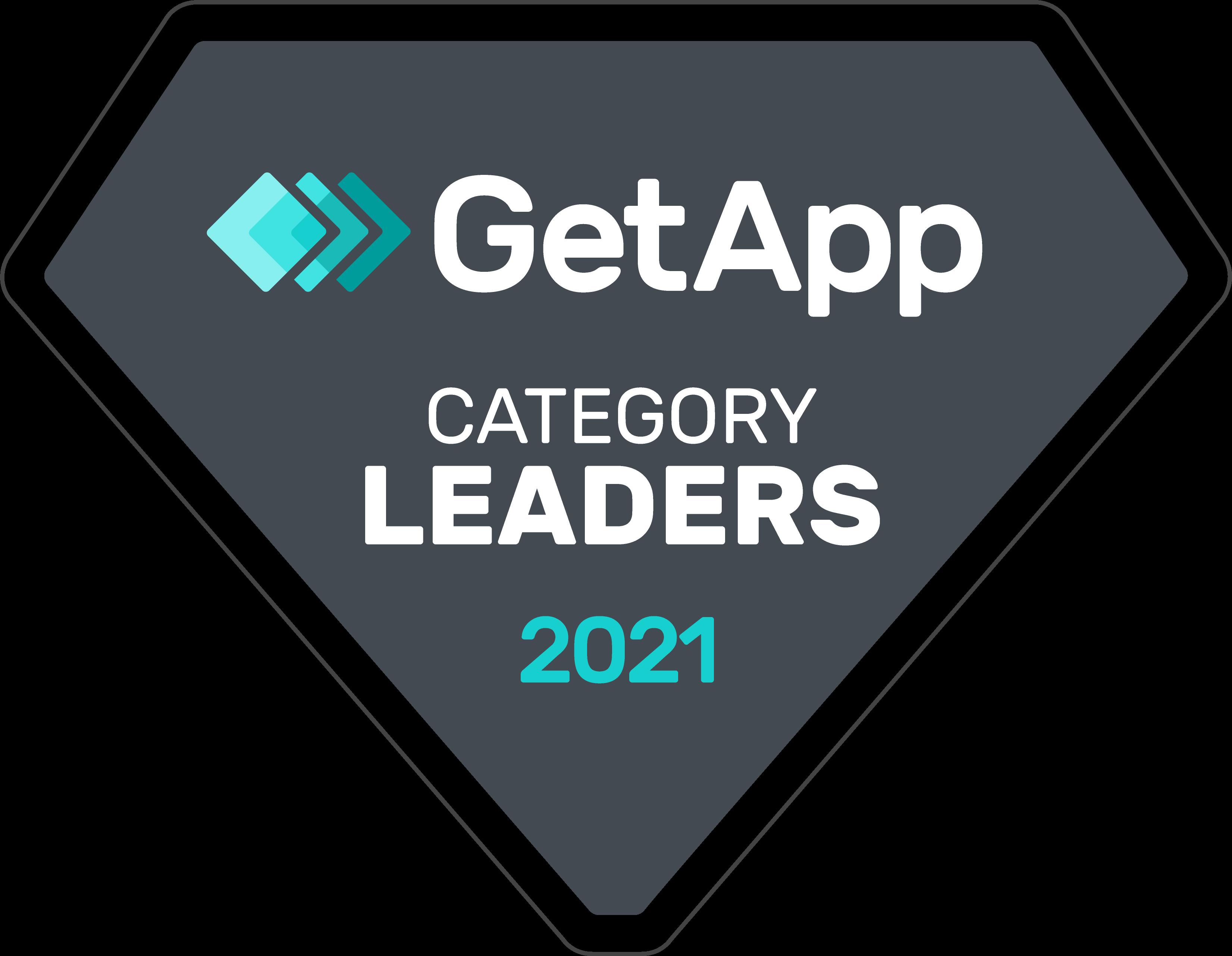 Badges GetApp Category Leaders